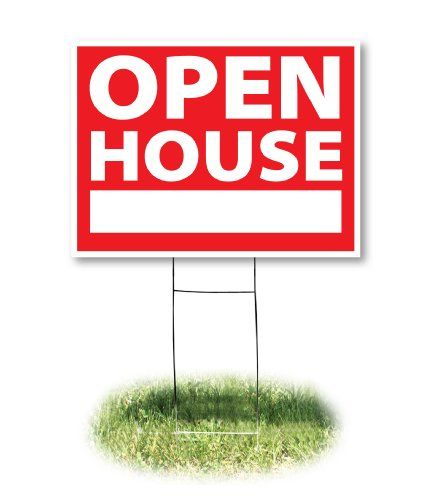 Headline Sign 4732 Yard Sign Open House 18 Inches by 24 Inches ...