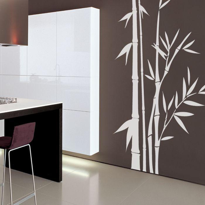 Bamboo Tree Vinyl Wall Decal Giclee Art Prints Printed Mugs And - Vinyl wall decals bamboo