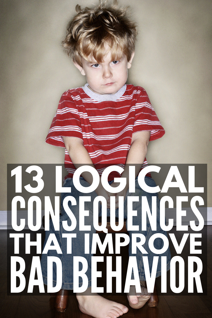 How to Discipline a Child: 13 Logical Consequences that Actually Work #discipline