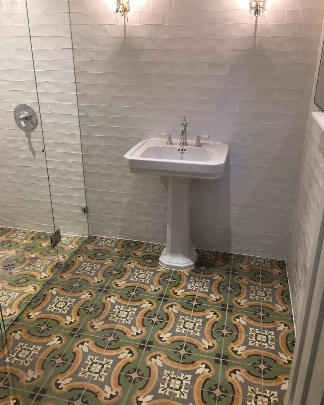 Pin By Michelle Anderson On Dream Bathroom Ideas Encaustic Tile Dream Bathrooms Dream Bathroom