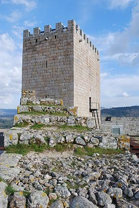 Château de Celorico da Beira, Région Centre du Portugal