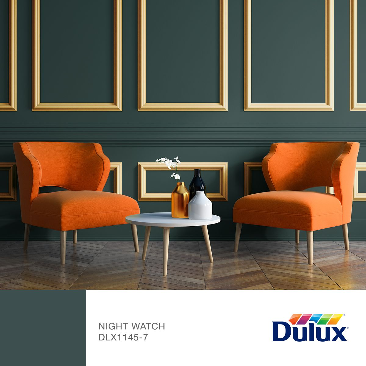 Introducing our 2019 dulux canada paint colour of the year - Night watch paint color ...
