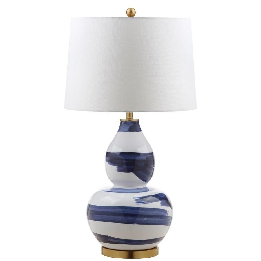 Safavieh Aileen Table Lamp Blue White