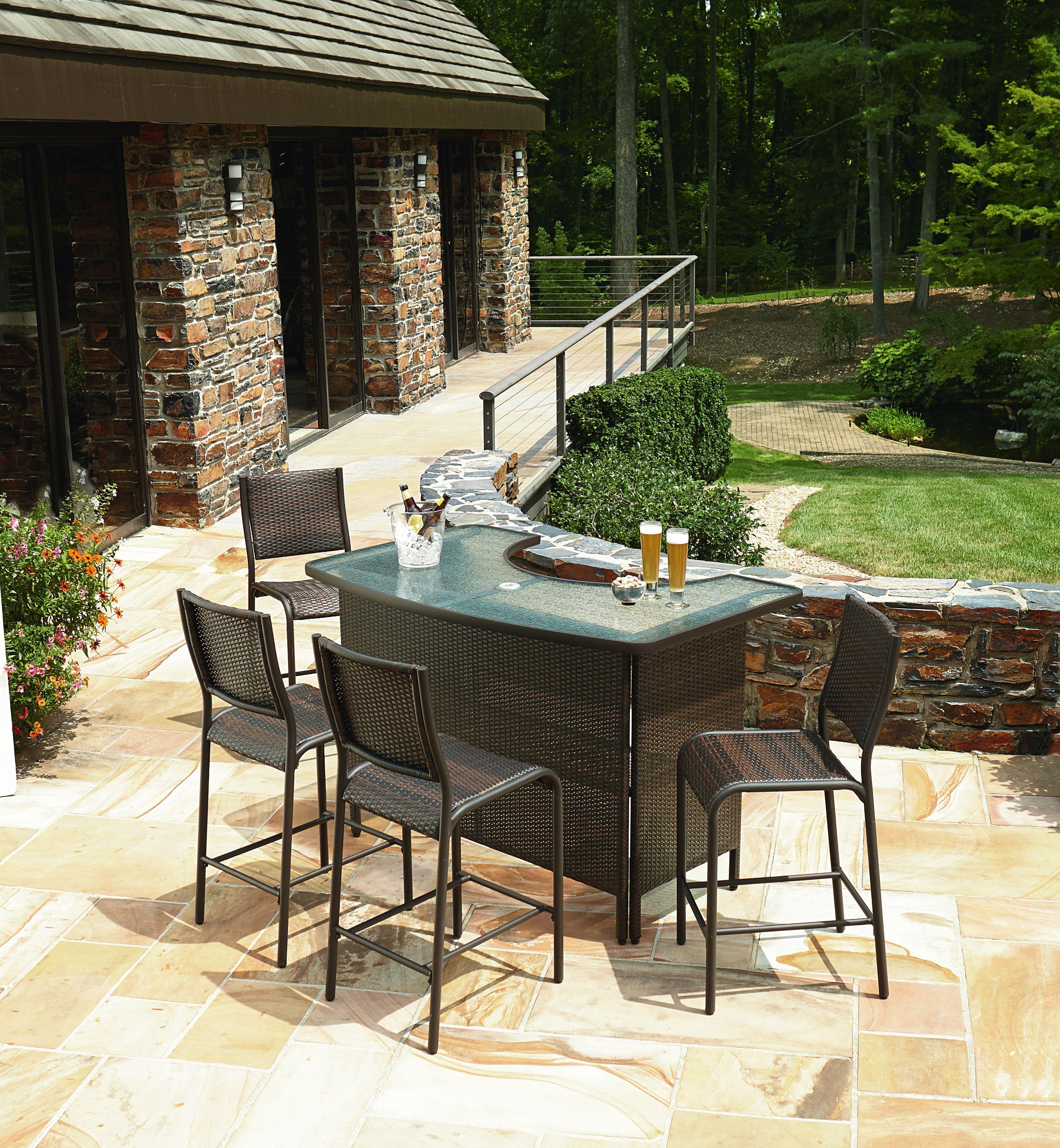 outdoor patio bar sets diy outdoor bar