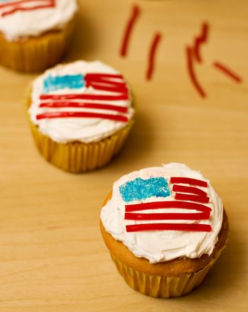 4th Of July Cupcakes With Images Holiday Eating Holiday