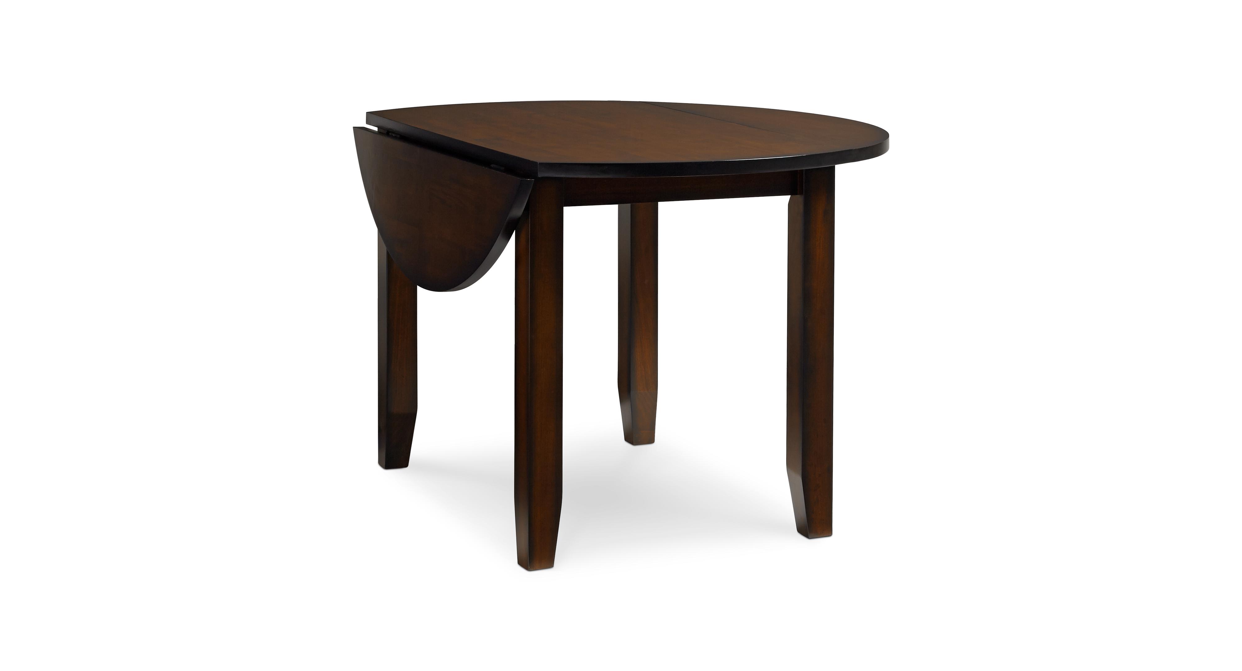 Branton Round Drop-Leaf Table