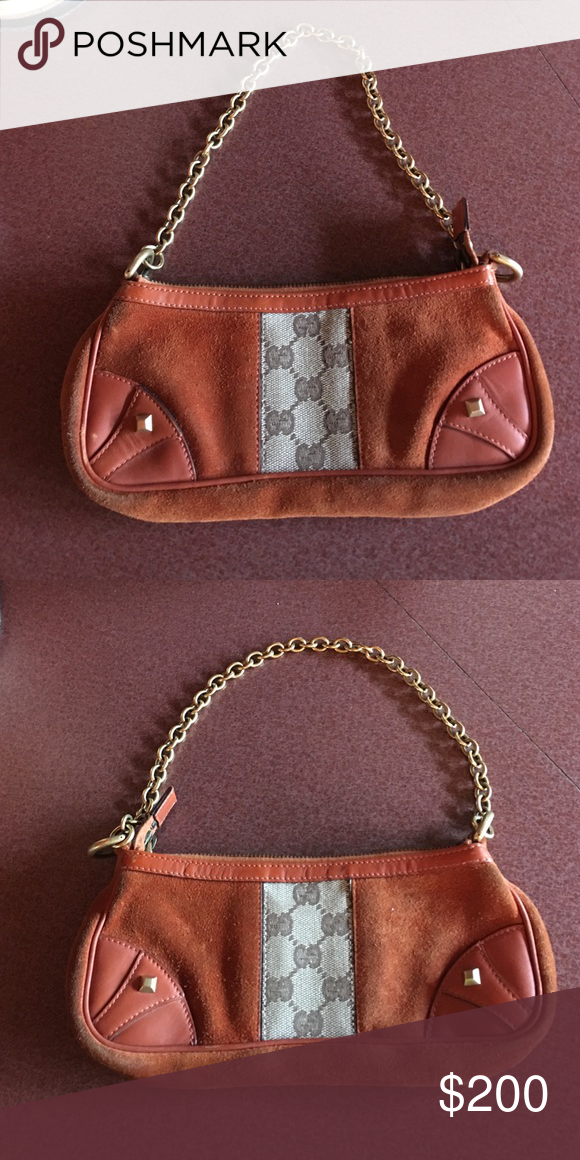 Authentic Gucci Purse Real mini Gucci.. Comment for more details. I'm open to offers Gucci Bags Clutches & Wristlets