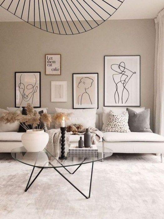 43 Creative Wall Art Design Idea For Living Room Homiku Com Scandi Living Room Living Room Lounge Living Room Scandinavian