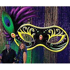 Large Masquerade Mask Decorations Click To Buy Mardi Gras Ball