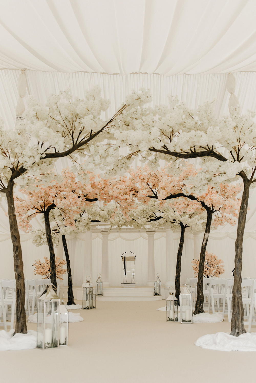Cherry Blossom Tree Wedding Aisle Wedding Aisle Decorations Blossom Tree Wedding Wedding Tree Decorations