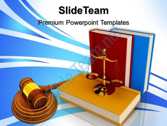 Powerpoint Templates Education Theme Justice Law Ppt Themes Slide01