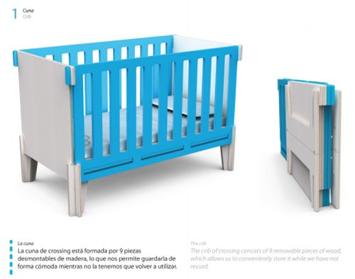 cuna-crossing | Muebles para niños(as) | Pinterest | CNC, Children ...