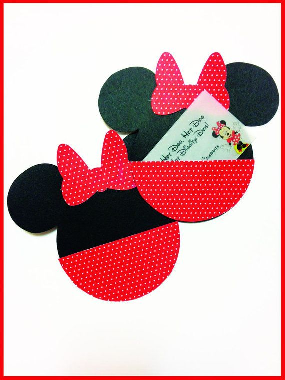 Minnie mouse pocket custom Birthday Party Invitations by madforads