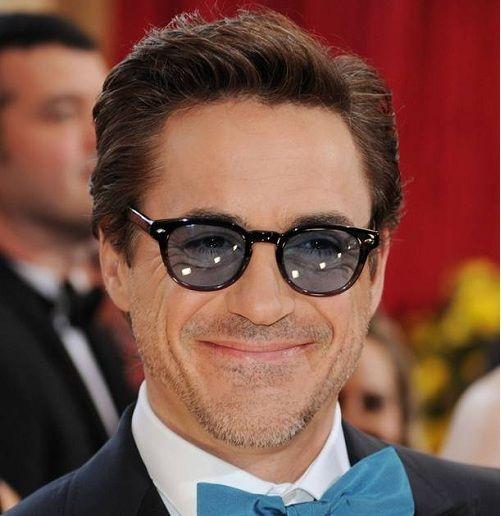 Robert Downey In Oliver Peoples Sheldrake Oliver Peoples