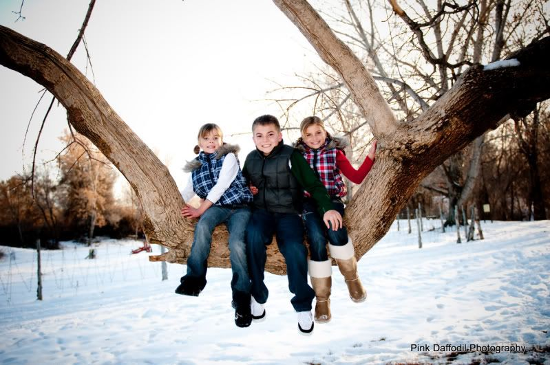 Pink daffodil photography utah family portrait photographer winter family portraits starting the new year off right