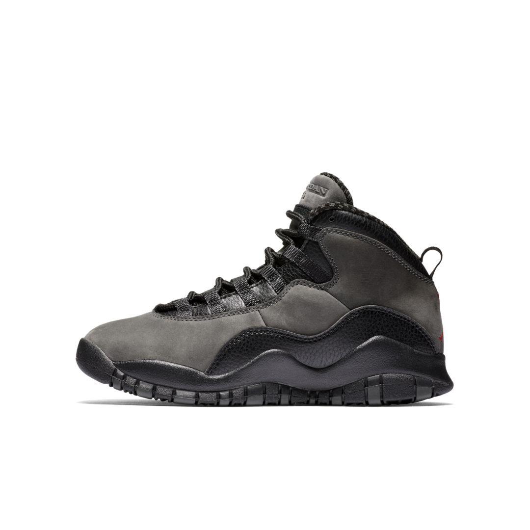 16b7176c443c Air Jordan Retro 10 (3.5y-7y) Big Kids  Shoe Size 3.5Y (Dark Shadow ...