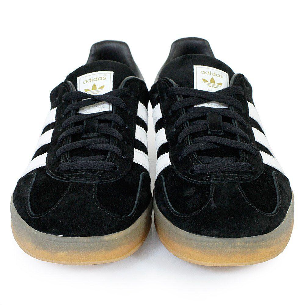 Adidas Originals Sneakers USA | Gazelle Indoor Black Shoe B24972 ...