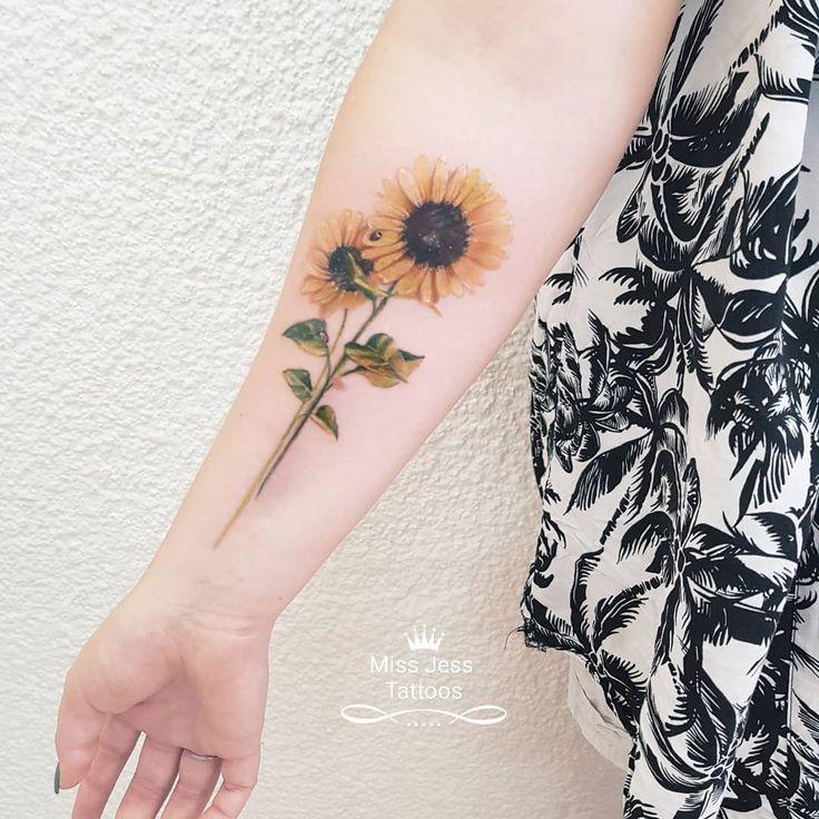 Photo of Aquarell Sonnenblume Tattoo Sonnenblume – Die Sonnenblume – Neuer Blog kommt u ….