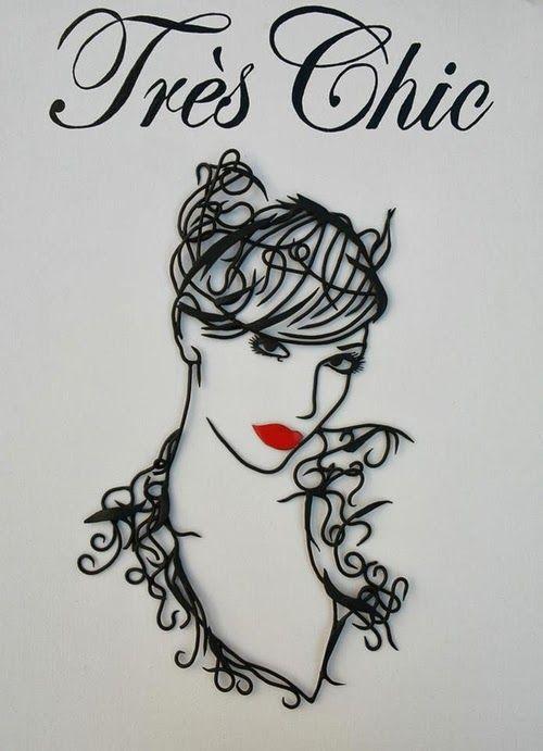 Wire Art Drawings   Wire art, Art drawings and Draw