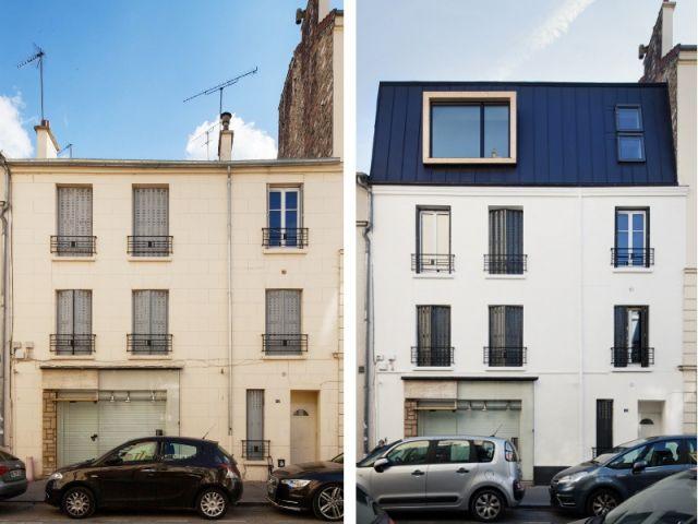 avant apr s un duplex n d 39 une sur l vation en milieu urbain dense milieu urbain milieu et. Black Bedroom Furniture Sets. Home Design Ideas