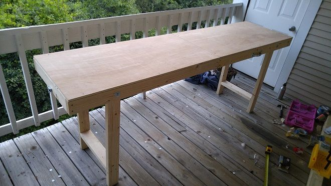 Diy 11 Easy Steps To Make A Folding Beer Pong Table Beer Pong Table Designs Beer Pong Table Diy Diy Beer Pong