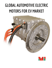 The Market For Electric Motors Of Hybrid And Electric