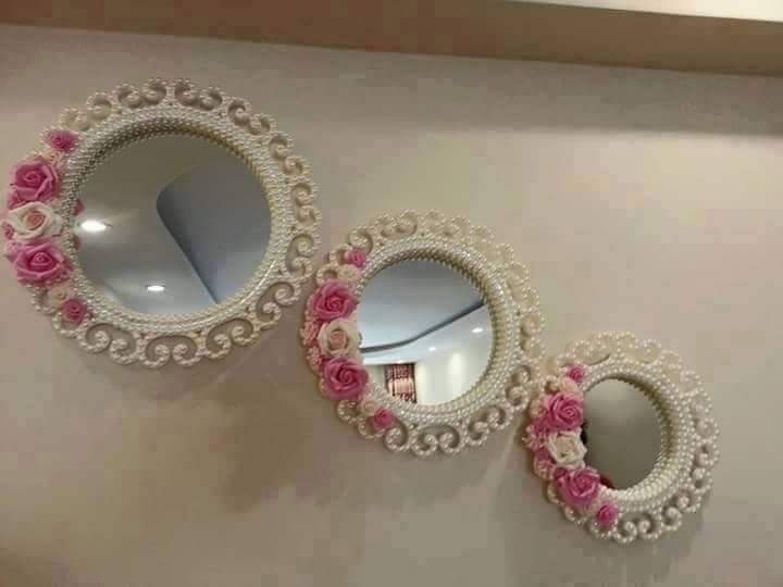 Pearly 3 Piece Mirror Set Models