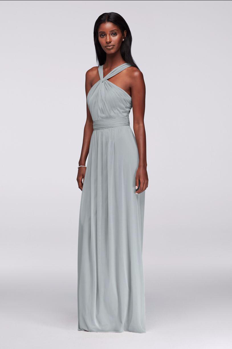 Mystic Blue, Y-Nick Bridesmaids Dress - David\'s Bridal | Amber\'s ...