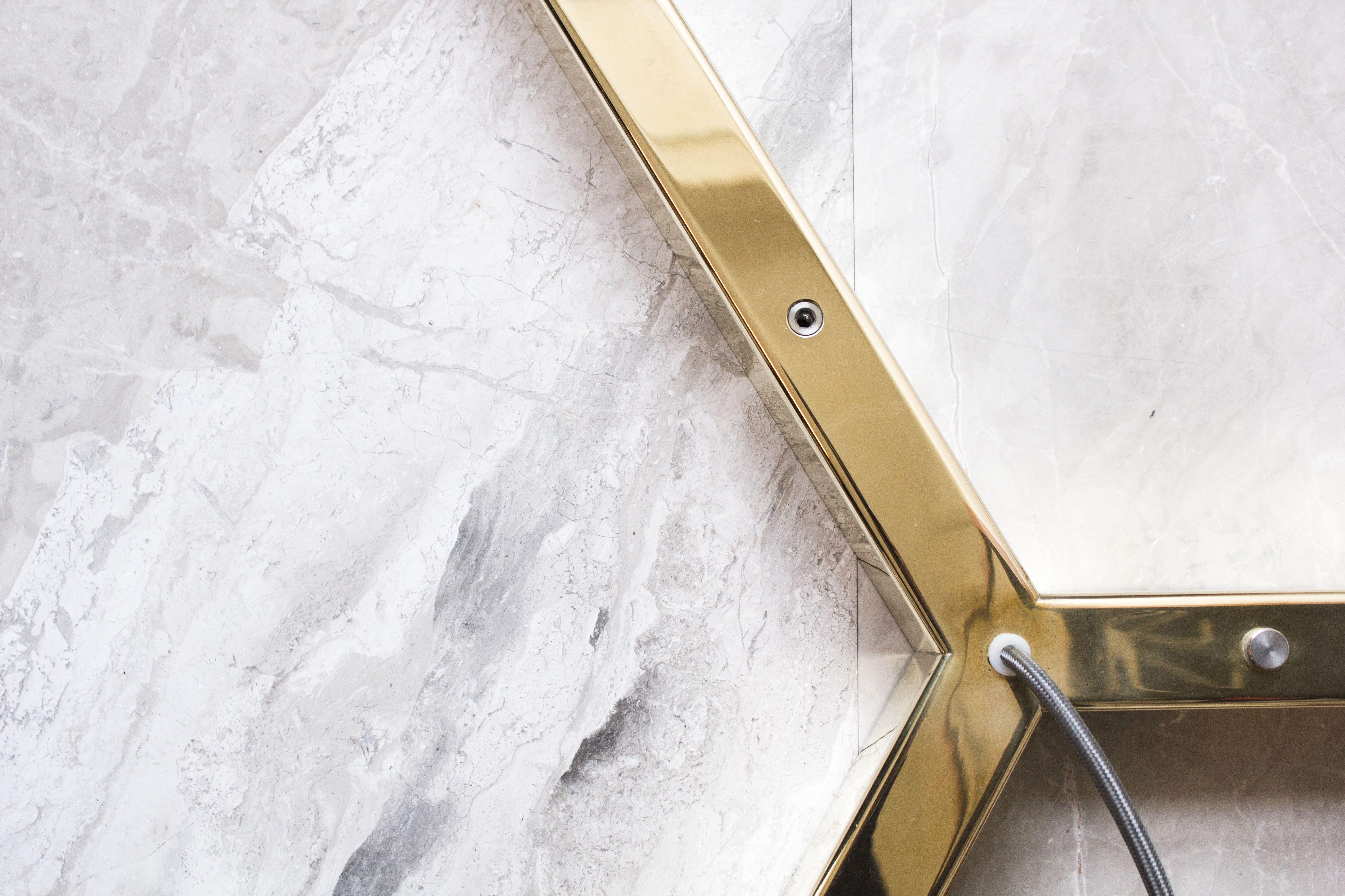 Y Model lamp - Anour - Danish brand - Brass