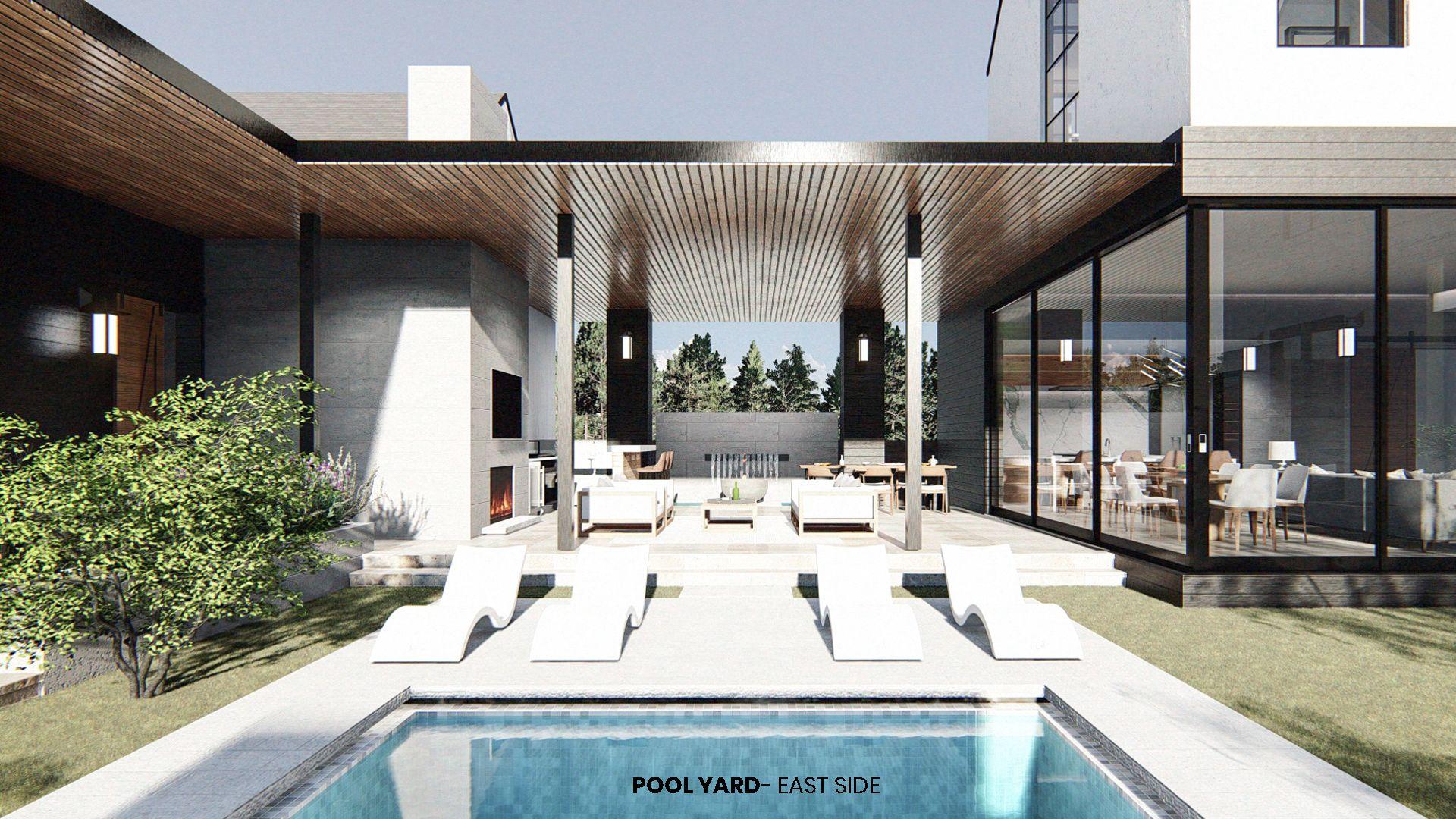 33+ Farmhouse plan with swimming pool type