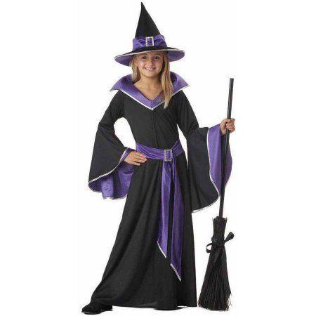 1262b9c4b109 Incantasia The Glamour Witch Girls  Child Halloween Costume ...
