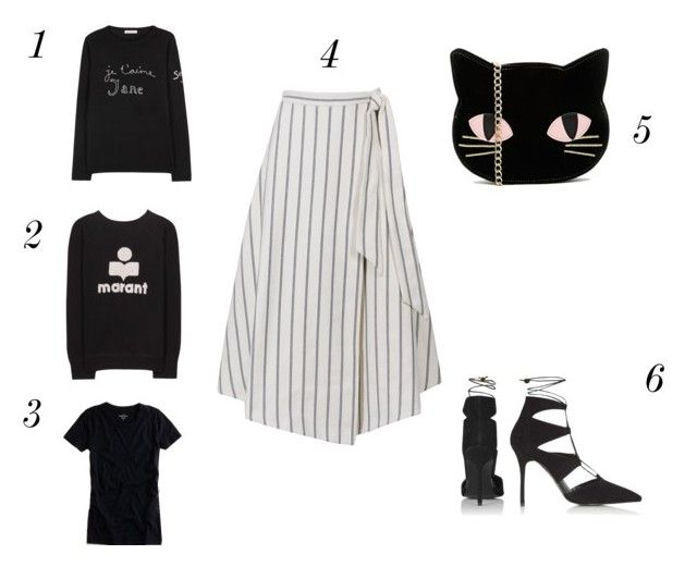weekend wants #1 by annmariefashionmumof40 on Polyvore featuring polyvore, fashion, style, Etoile Isabel Marant, Bella Freud, J.Crew, Topshop and Skinnydip cat bag by asos