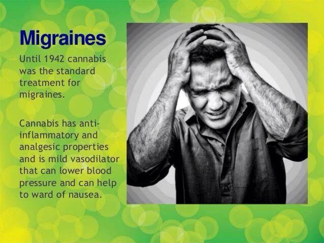 תוצאת תמונה עבור migraine cannabis
