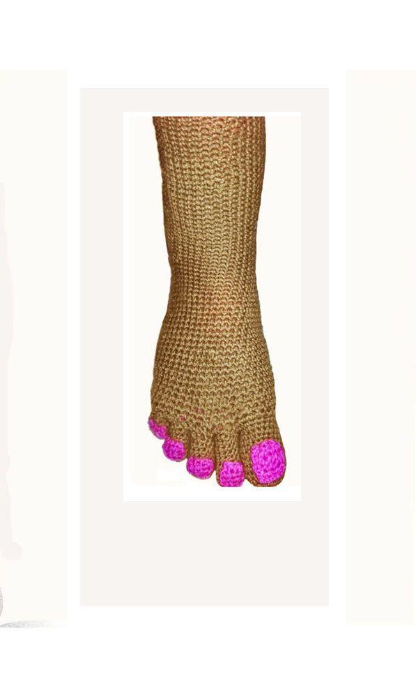 SALE Handmade funny socks. Unique socks. Pedicure toe socks. House ...