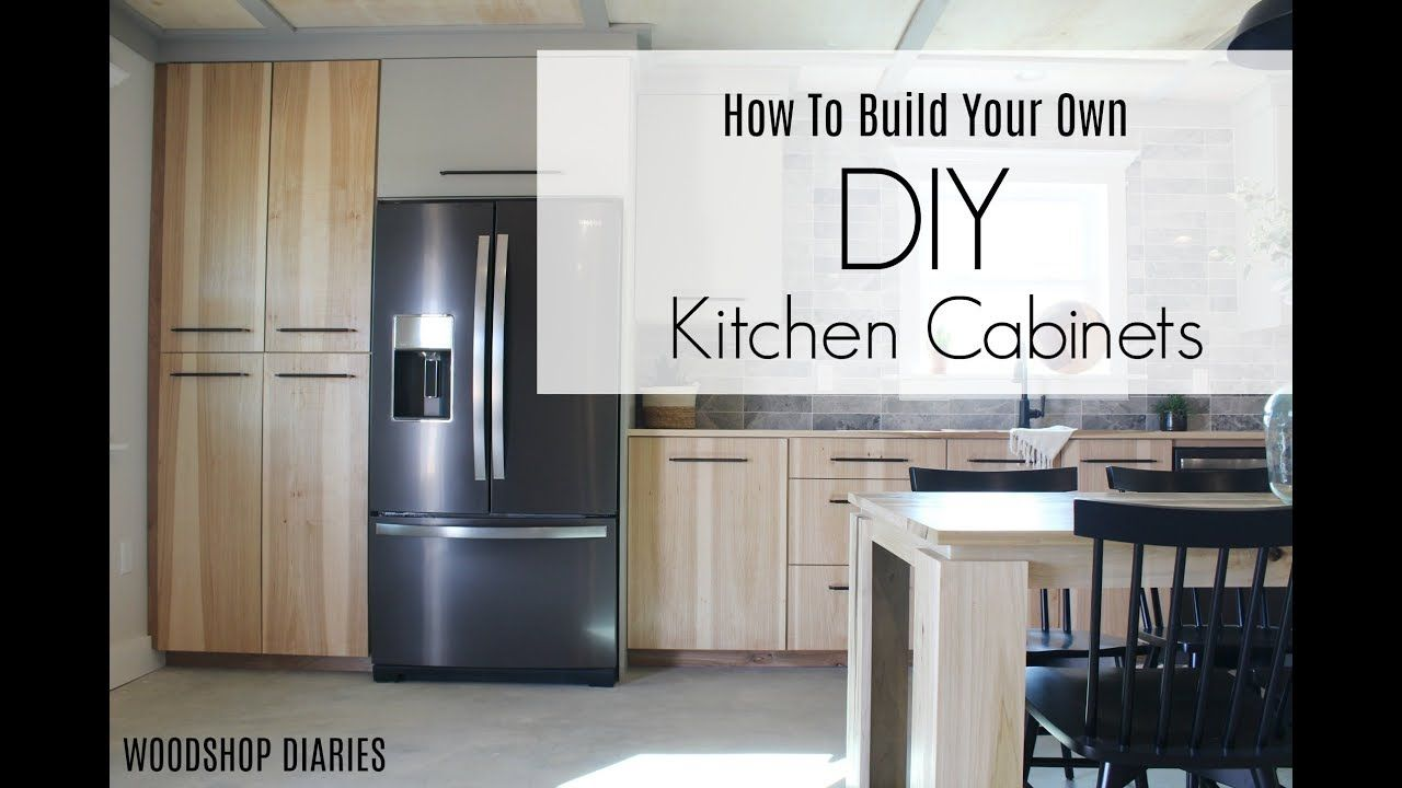 How to Build Your Own DIY Kitchen Cabinets--Using Only ...