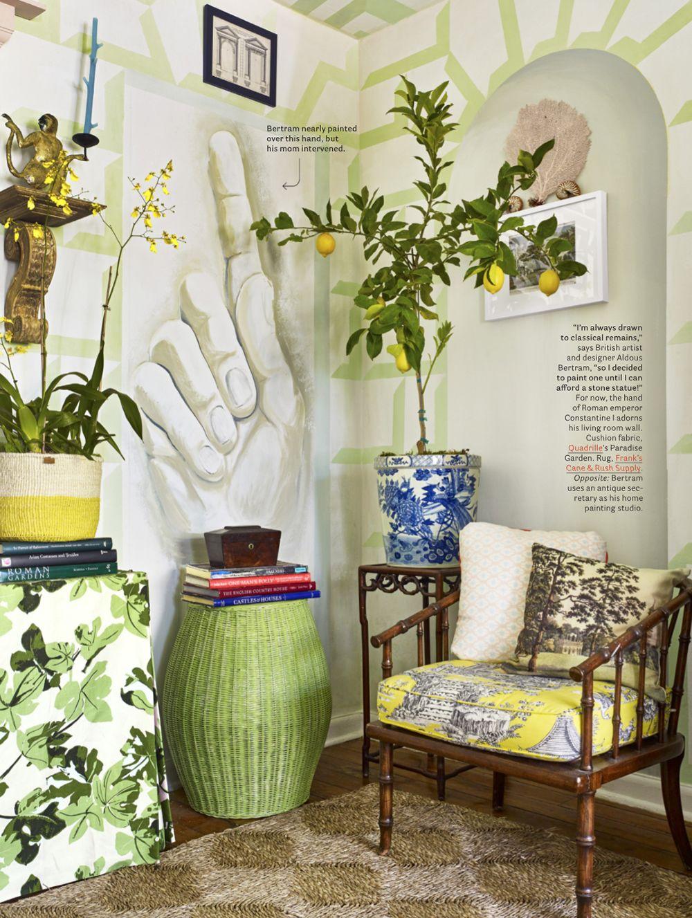 Quadrille Paradise Garden Curtains By Aldous Bertram With Images