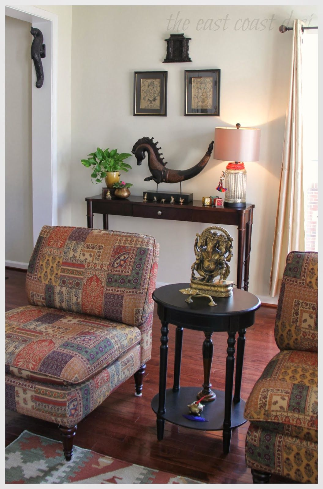 Hello How Are We Doing Today The Countdown To Diwali Continues Today It S Going To Be Simple Di Indian Home Decor Indian Home Interior Home Decor