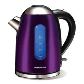 Two Things I Need An Electric Kettle And More Purple In My Life Glamorous Purple Kitchen Appliances Design Inspiration