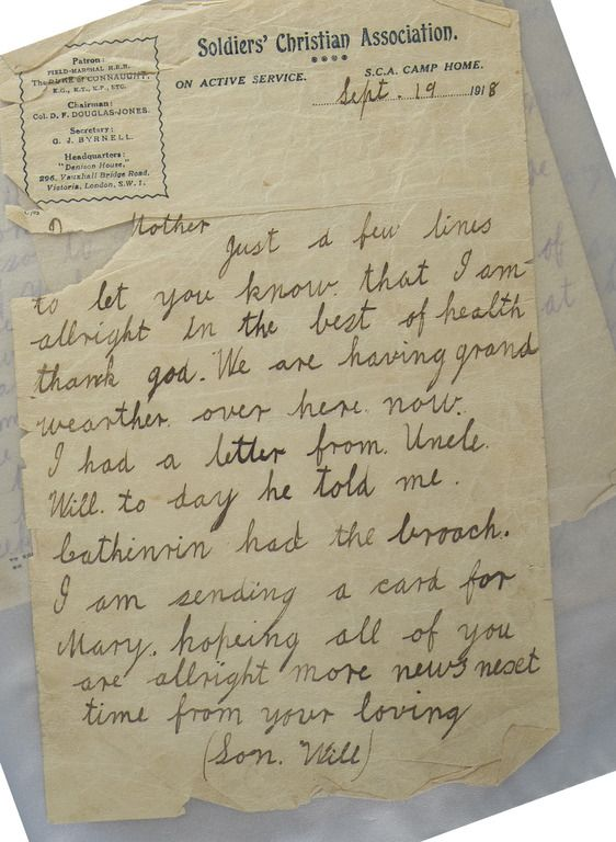 A handwritten letter from the war- This is an example of letter that - new letter to minister format australia