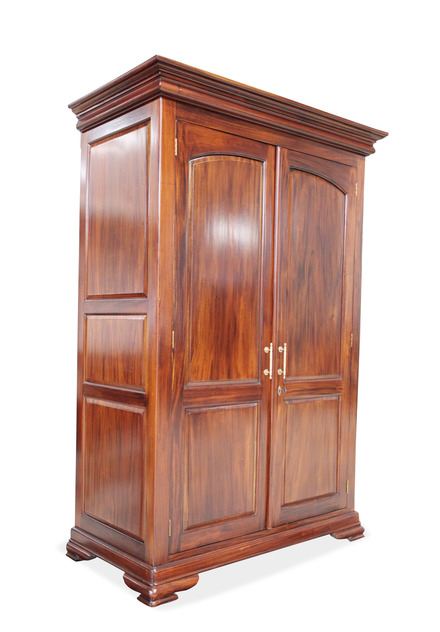 Vanessa Wardrobe Made Of Solid Mahogany Wood Dimendions L130xw64xh20 Cm Price 129000 Solid Mahogany Mahogany Wood Comfy Bed
