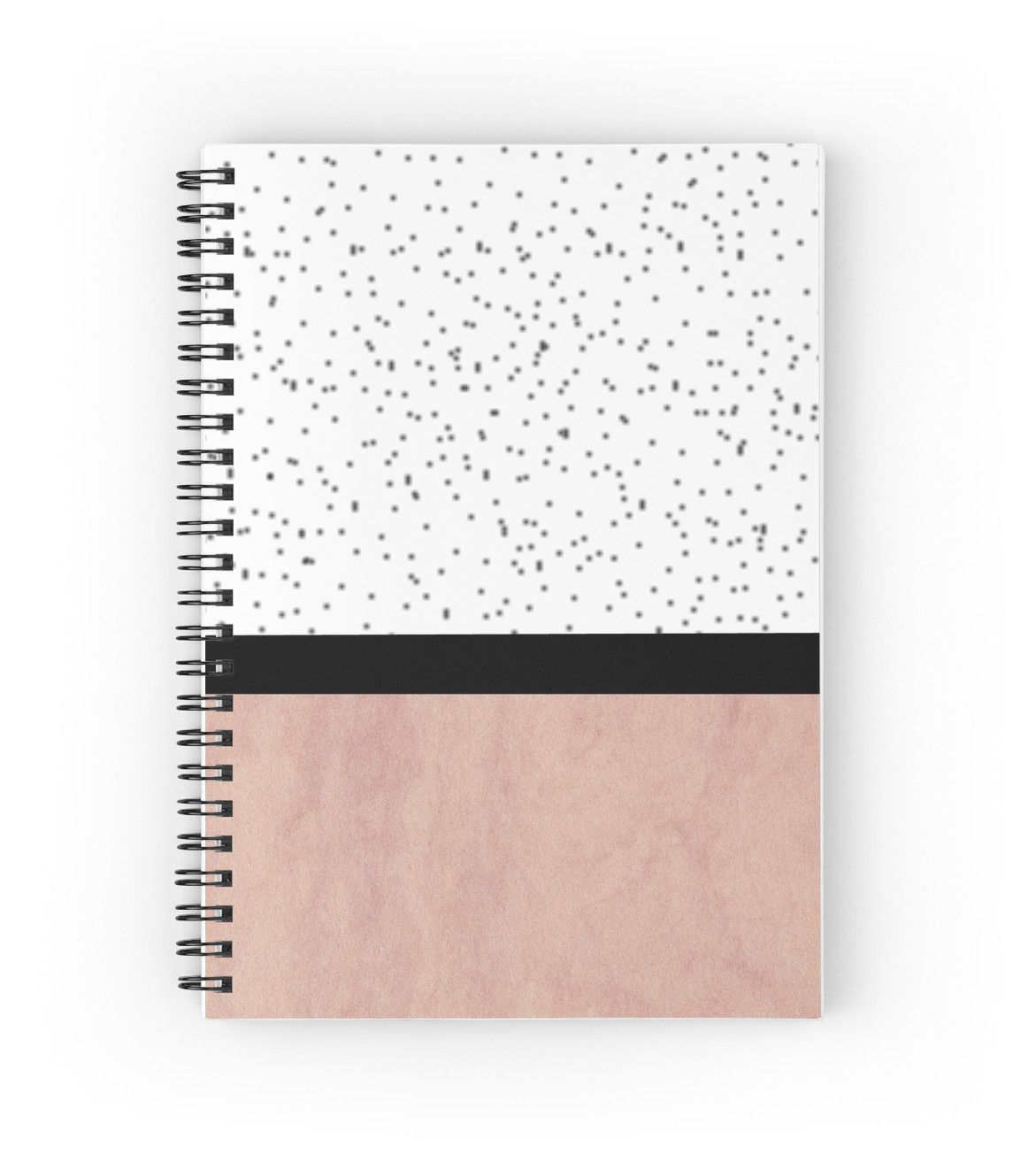 Pink marble and dots spiral notebook by by jwp stationary pink marble and dots spiral notebook by arrbyjwp on redbubble notebook spiral solutioingenieria