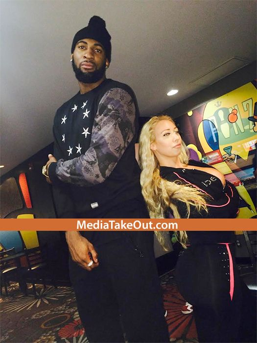 Pics Nba Star Andre Drummond Is Photod Out    On A -7016