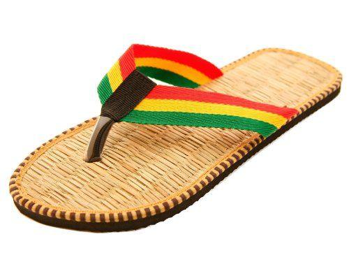 Rastafarian Bamboo Men's Flip Flops Thong Sandals Black/tan (Size 11/ Euro 44) Blue Pearl,http://www.amazon.com/dp/B00FDYZSP0/ref=cm_sw_r_pi_dp_Z-gstb0NNJ42XGBV