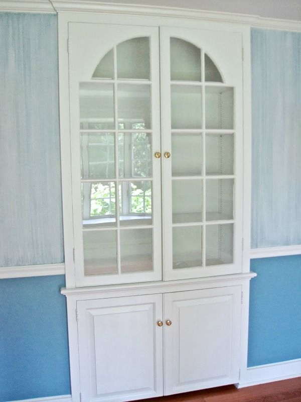 Before Pic Of Built In Dining Room China Cabinet