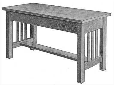 Piano Bench Plans All Free Plans At Stans Plans Piano Bench Mission Furniture Craftsman Furniture