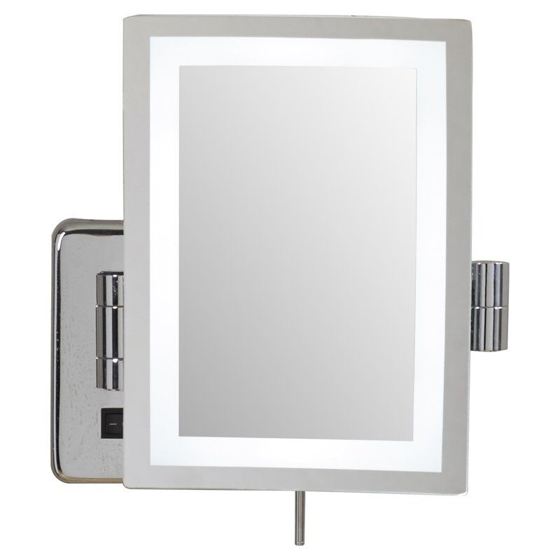 Alonso Direct Wire Wall Mount Rectangular Makeup Mirror Mirror Wall Mirror Magnifying Mirror