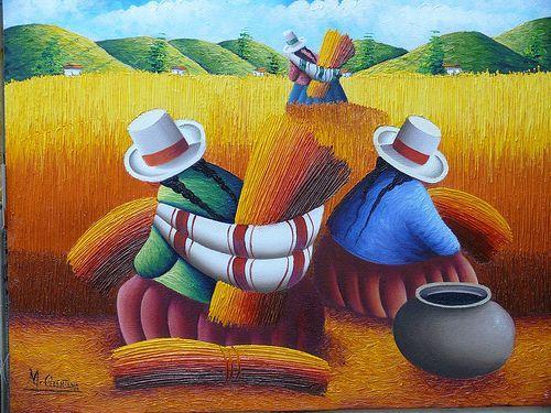 Pinturas peruanas famosas buscar con google tejas - Nombres de cuadros famosos ...