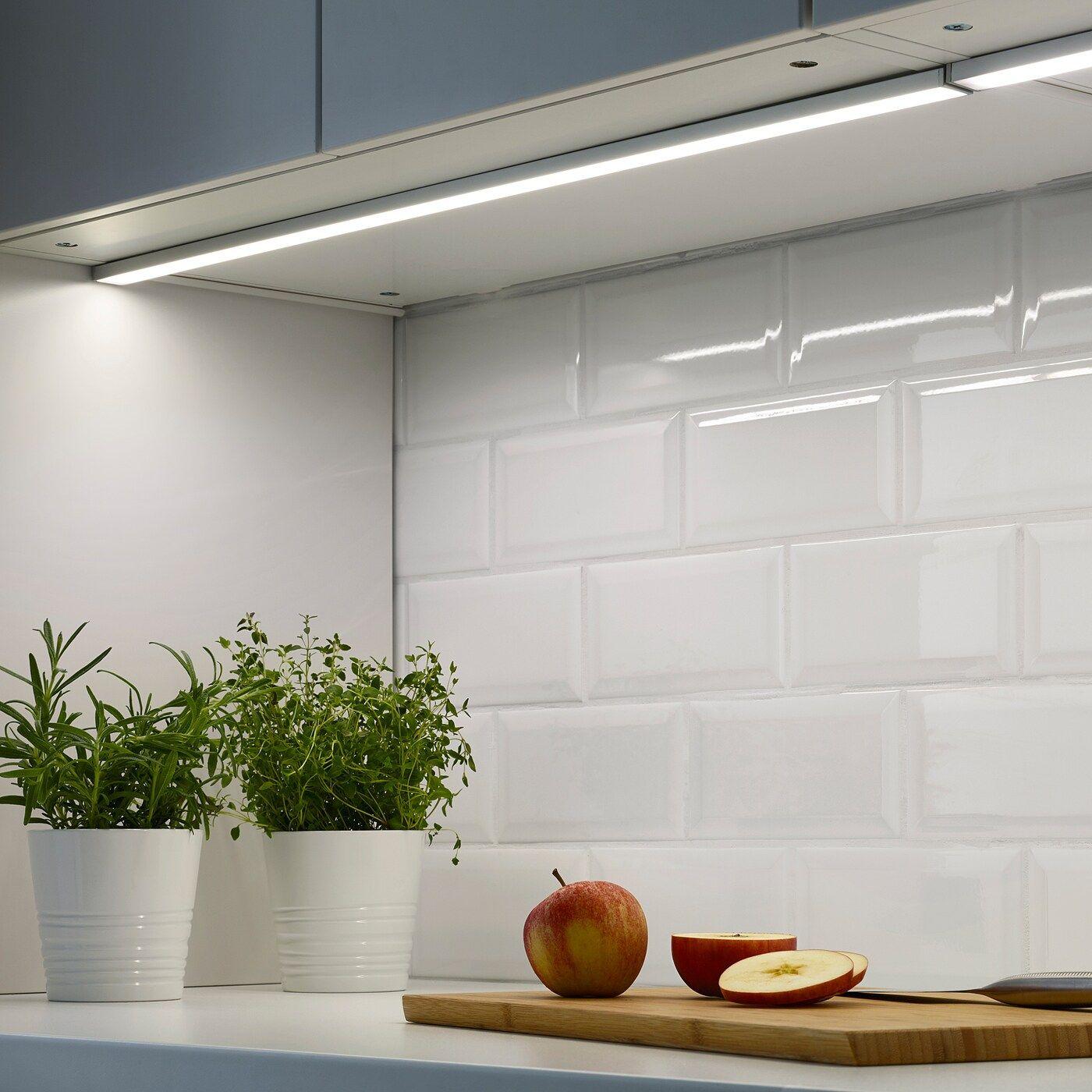 Omlopp Arbeitsbeleuchtung Led Aluminiumfarben Ikea Osterreich In 2020