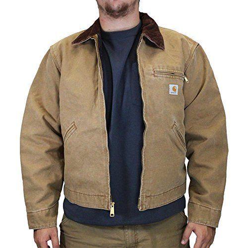 Carhartt Men's Weathered Duck Detroit Jacket  #Carhartt #BasicJacket
