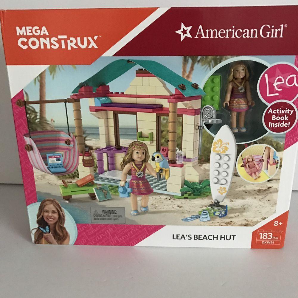 Mega CONSTRUX American Girl LEA/'s Beach Hut Building Set New TOYS KIDS